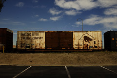 atr2603 (DCAN 1) Tags: railroad river trains company service herald mccloud unpainted cushin atr2603