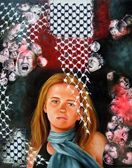 NEW painting of Rachel Corrie