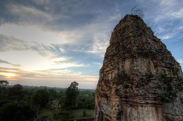 HDR - Angkor Sunset