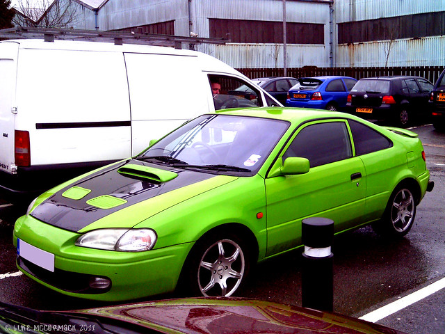 Modified Toyota Paseo