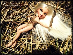 BDNTM Next Theme: Mythical Creatures (Marjorie as Bowtruckle) op.3/3 (Carol Parvati ™) Tags: doll soccer marjorie picnik bratz cloe playsportz carolparvati