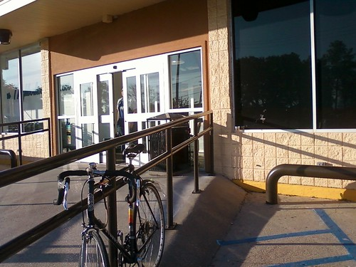 Bike Parking at Lakeview Grocery