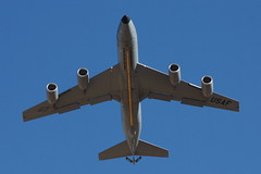 KC-135 Stratotanker - belly overhead by rob-the-org