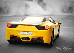 Ferrari 458 Italia | Can You See GGG 70 ? (Tareq Abuhajjaj | Photography & Design) Tags: light red sky bw orange moon white black green cars car sport yellow night speed dark photography lights see design photo big high nice nikon flickr italia nissan power you top wheels fast gear can ferrari turbo saudi arabia manual carbon fiber rims 70 riyadh v8  ggg 2010 ksa 070 458 tareq   alreem     d700      foilacar tareqdesigncom tareqmoon tareqdesign  abuhajjaj