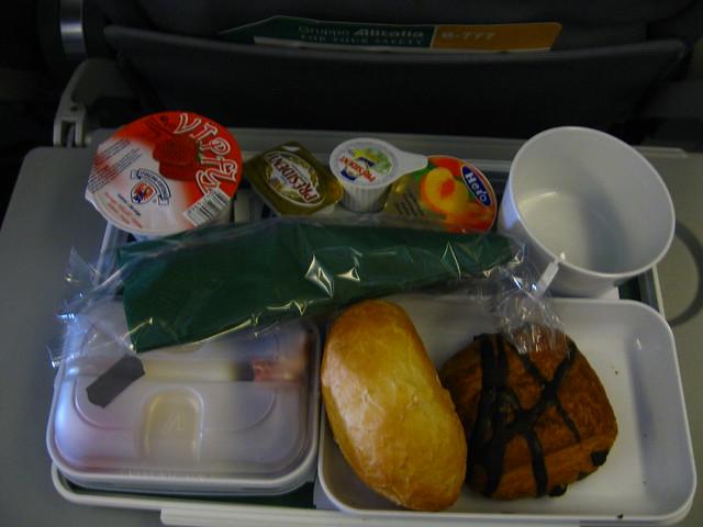 機内食のフリー写真素材