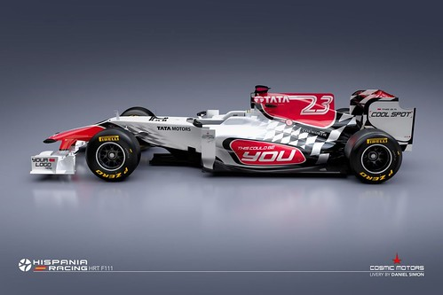 Hispania Racing F111