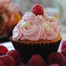 110. White Chocolate Raspberry Cupcake