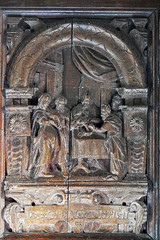 Flemish 17C carved panel