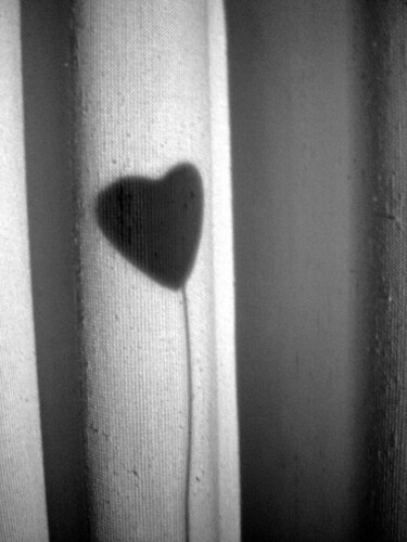 Lonely heart - photo by Dora Mitsonia