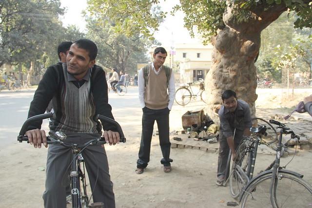 腳踏車維修站