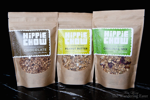 Trio of flavors from Hippie Granola