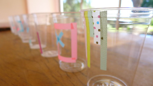 fun cup with mt masking tapes