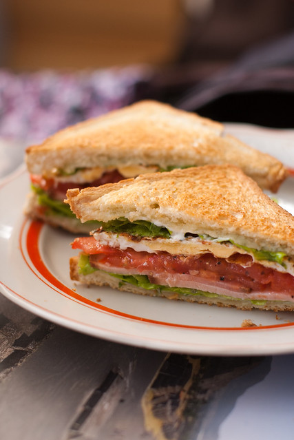 Võimas võileib / A mighty sandwich
