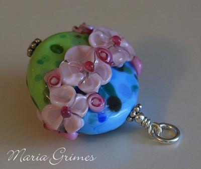 My Pink Garden Pendant