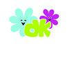 DK Flower Logo