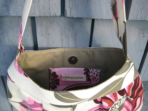 Buttercup bag interior