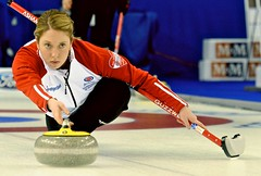 Steph Guzzwell of Team Newfoundland and Labrador (BrennanSchnell) Tags: sport curl nationalchampionship nfld curling cca scotties stoh newfoundlandlabrador scottiestournamentofhearts stephguzzwell