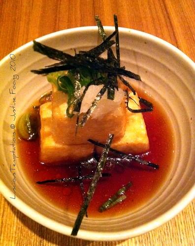 Agedashi Tofu - Nizuni, Fitzrovia