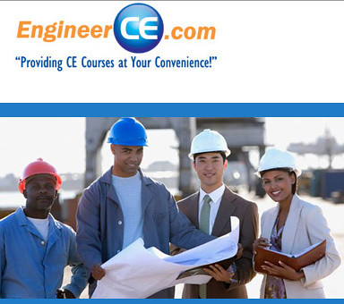 PDH Online Engineering Continuing Education PE Renewal CE engineering license EngineerCEcom by engineerce123