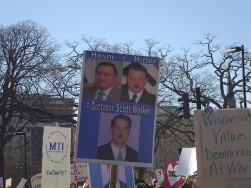 PHOTO ROUND-UP: Wisconsin Public Sector Unions On Parade