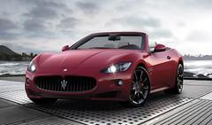 [フリー画像] 乗り物, 自動車, マセラティ, 2012 Maserati GranTurismo Convertible Sport, マセラティ グラントゥーリズモ, 201102242300