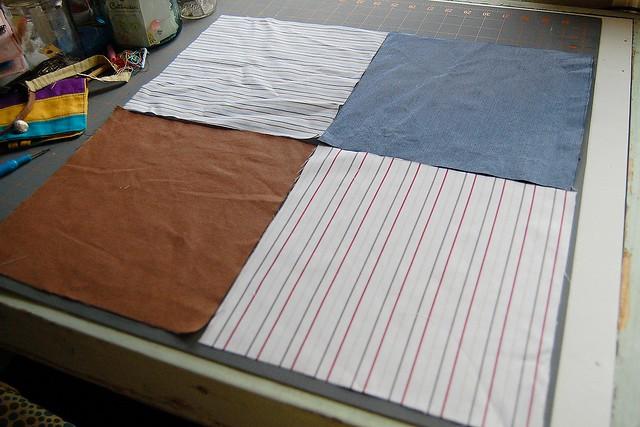 work shirt squares