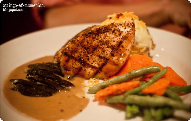 Fire Grilled Chicken & Portobello
