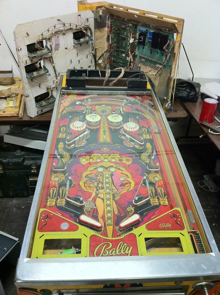 pinball machine repair parts