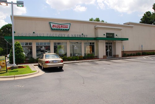 Our Visit to Krispy Kreme