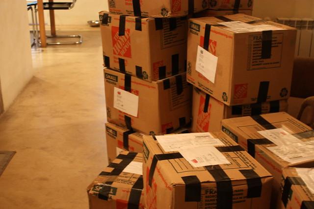 UPakWeShip boxes arrive