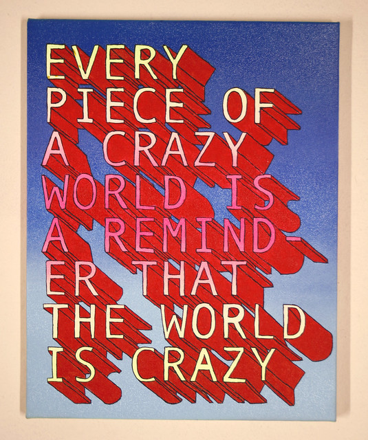 Every Piece of a crazy world.