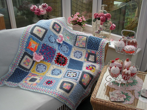 Such gorgeous Squares everyone! Thank you to every one that has contributed to this Blanket.