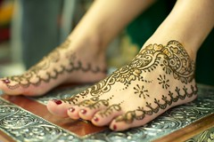 Mehndi Night: Feet. (theurbannexus) Tags: wedding feet sister indian ceremony henna mehndi punjabi rituals panjabi mehndinight