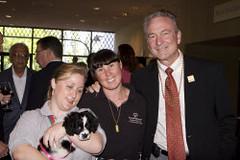 Bill Shumard & Debi Anderson & Stephanie Hardy (Special Olympics Southern California) Tags: olympians soop specialolympicsonparade