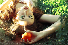 Day 37/365 (Lucia Rubio) Tags: orange retrato dream naturallighting femaleportrait 365daysproject magicalway luciarubio wwwluciarubiocom mariarubioblogger