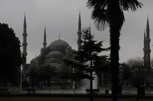 The Blue Mosque (really called Sultanahmet Camii)