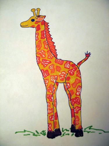 giraffecalf