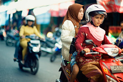 Tanjung Pinang Riders (Jon Siegel) Tags: indonesia island nikon women