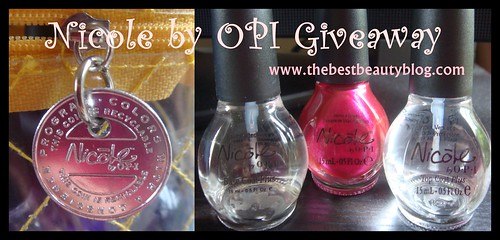 Nicole by OPI, OPI nail polish, giveaway prize