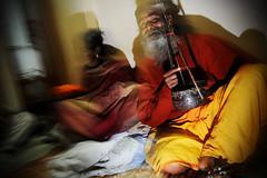 Blind Baul: Kanai Das (Leonid Plotkin) Tags: musician music india asia singing blind traditional religion singer tradition kolkata folkmusic mystic calcutta sadhu holyman baul