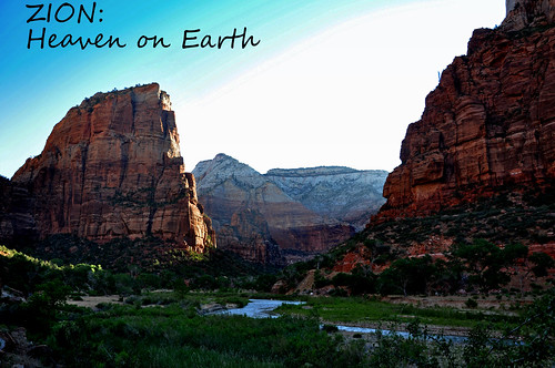 zion: heaven on earth