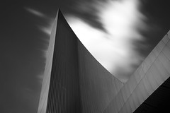 Imperial War Museum North (steve.ashton7) Tags: architecture manchester mono salford imperialwarmuseum