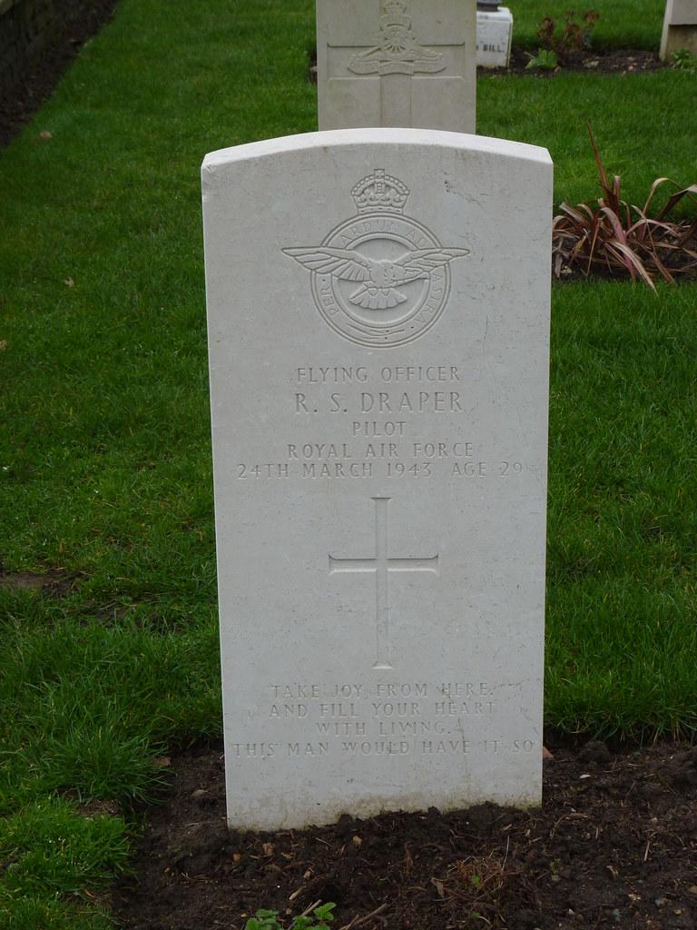 RAIMUND SANDERS DRAPER, Pilot, Royal Air Force