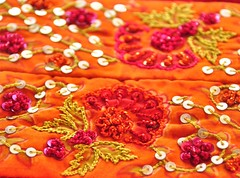 The Vibrant Side of Pakistan (Amima Sayeed) Tags: arts craft vibrance handembroidery pakistanfashion umarsayeedscreation