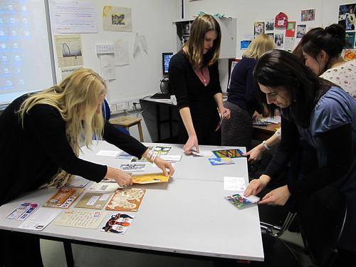 MA Arts Mailart workshop March 1 2011 (4)