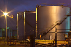 Fyshwick at night (photo obsessed) Tags: night australia oil canberra petrol act oceania australiancapitalterritory fyshwick industrialbuildings petroleumstoragetank