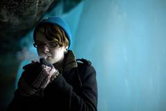(55/358) (epine) Tags: blue winter portrait cold ice minnesota silhouette canon photography falls smoking 5d minnehaha 2470mm epione bryantscannell