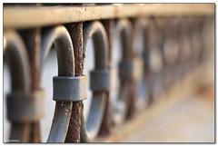 Aci Trezza - Shallow dof (ciccioetneo) Tags: italy macro fence nikon italia dof bokeh perspective sigma sicily shallow catania sicilia acitrezza 105mm acicastello d7000 ciccioetneo