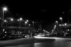 """""""les nuits urbaines"""" LLE - un mecredi soir  Bruxelles (Chanchant) Tags: brussels bw monochrome night belgium belgique noiretblanc bruxelles nuit poselongue anspach placebrouckre"""