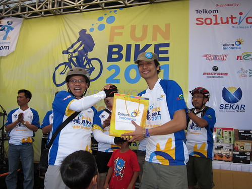 Serah Terima Bike to Share